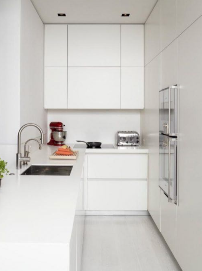 Uncomplicated Cool And Elegant The Best Kitchen Ideas And Designs Are All About Efficiency And Functionality Kitchendesign Wohnung Wohnzimmer Design Layout