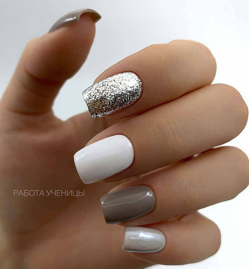 100 Trendy Stunning Manicure Ideas For Short Acrylic Nails Design Short Acrylic Nails Designs Trendy Nails Short Acrylic Nails