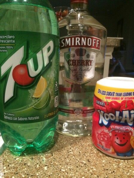 6933e0e5b2a Cherry Kool Aid Vodka   7up Drink Type  Cocktail Ingredients 4oz 7-Up 6