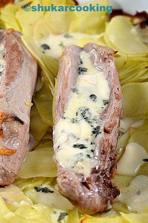 Filet mignon au roquefort   Recette roquefort, Filet ...