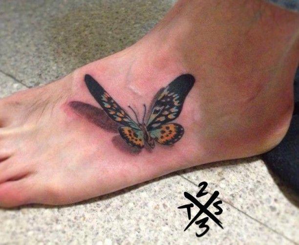 Bildergebnis Fur Schmetterling Tattoo Fuss Tattoo Of Butterflies