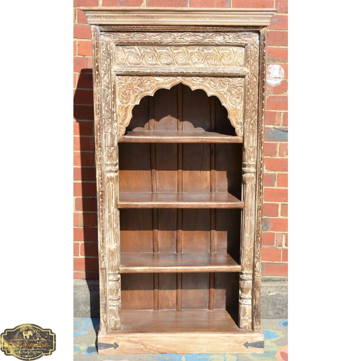 whitewash fullxfull vintage zoom listing ie carved bookcase il indian