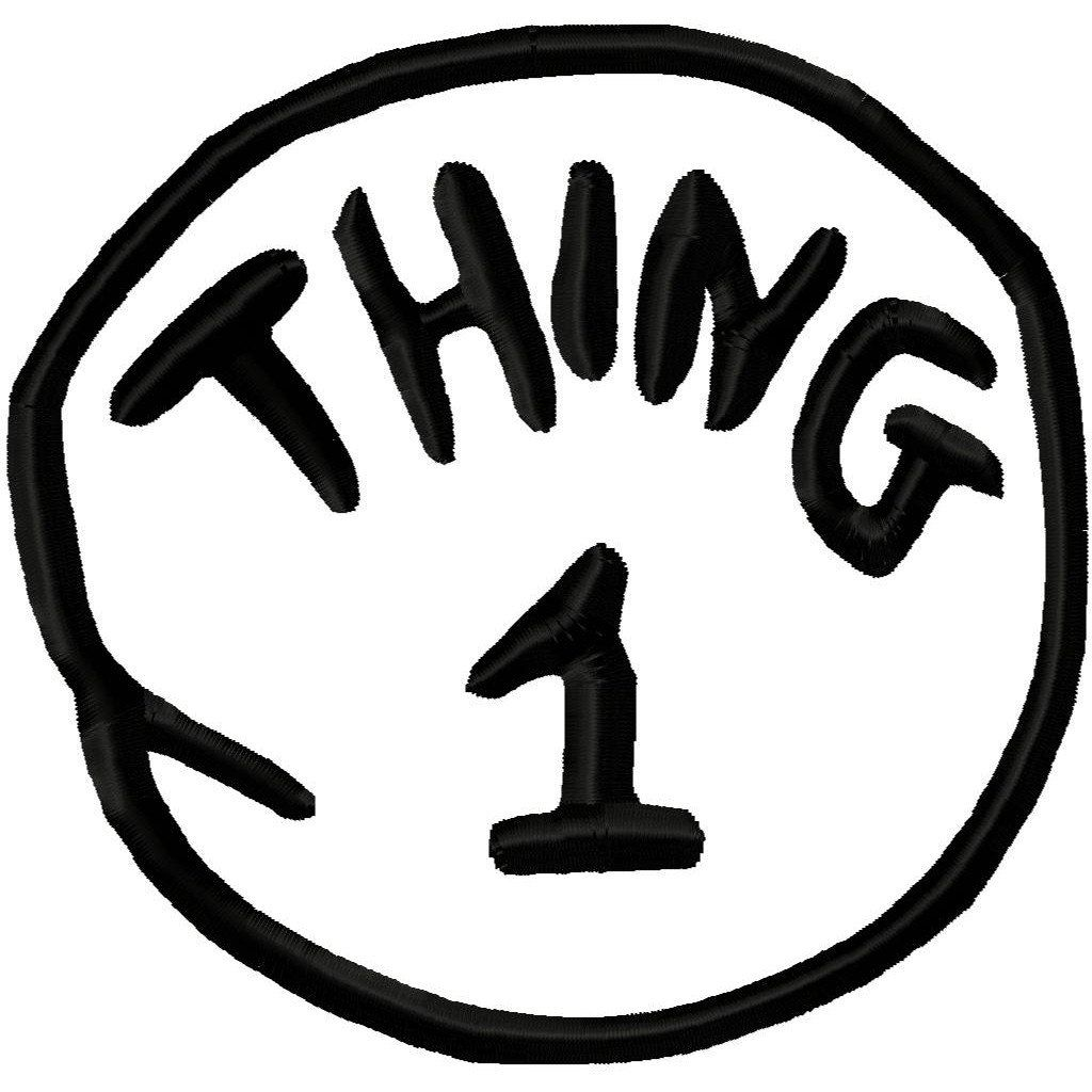 graphic relating to Thing 2 Logo Printable called Point 1 and Matter 2 Printables Printable Issue 1 And Factor