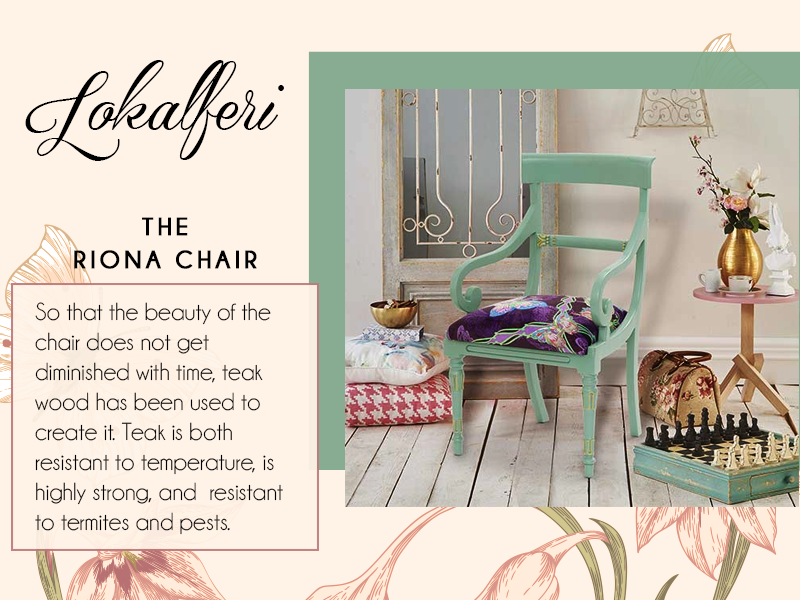 Bent Chairu0027s Riona Chair Features A Turquoise Body And Butterfly Print  Upholstery Making An Eye