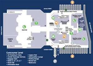 Chicago Union Station :: Concourse Map | Find Chicago Maps | Union