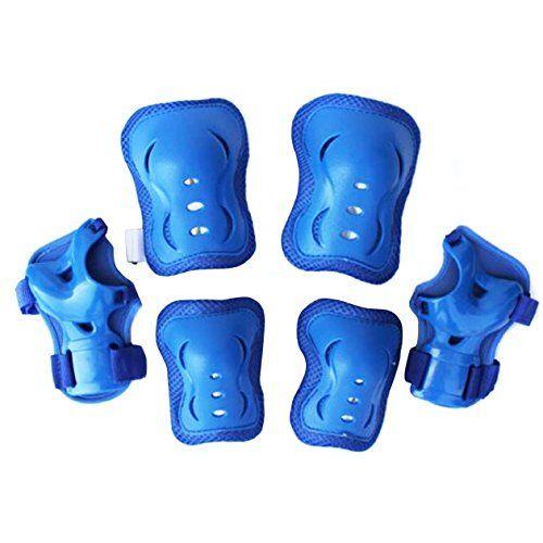 Eruner Children's Roller Blading [Knee Pads] - 6 Pcs Knee Wrist Elbow Pads Guard Skating Ski Biking Protective Gear (Blue) Eruner http://www.amazon.com/dp/B00UV6M5B0/ref=cm_sw_r_pi_dp_gHahvb1NWGMWB