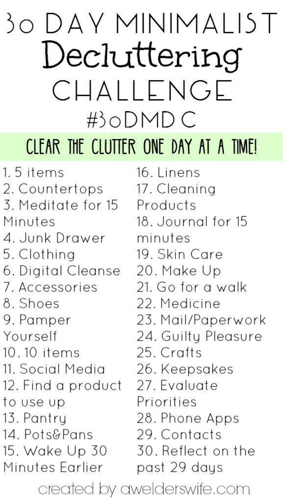Minimalist Decluttering Challenge My Decluttering Experience