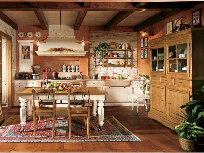 Arredamento in stile toscano - Cucine de L\'Ottocento | Maison ...