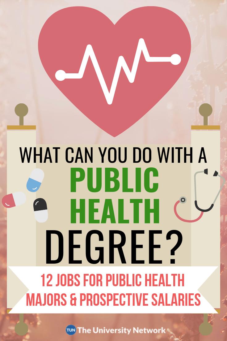 12 Jobs For Public Health Majors Public health jobs