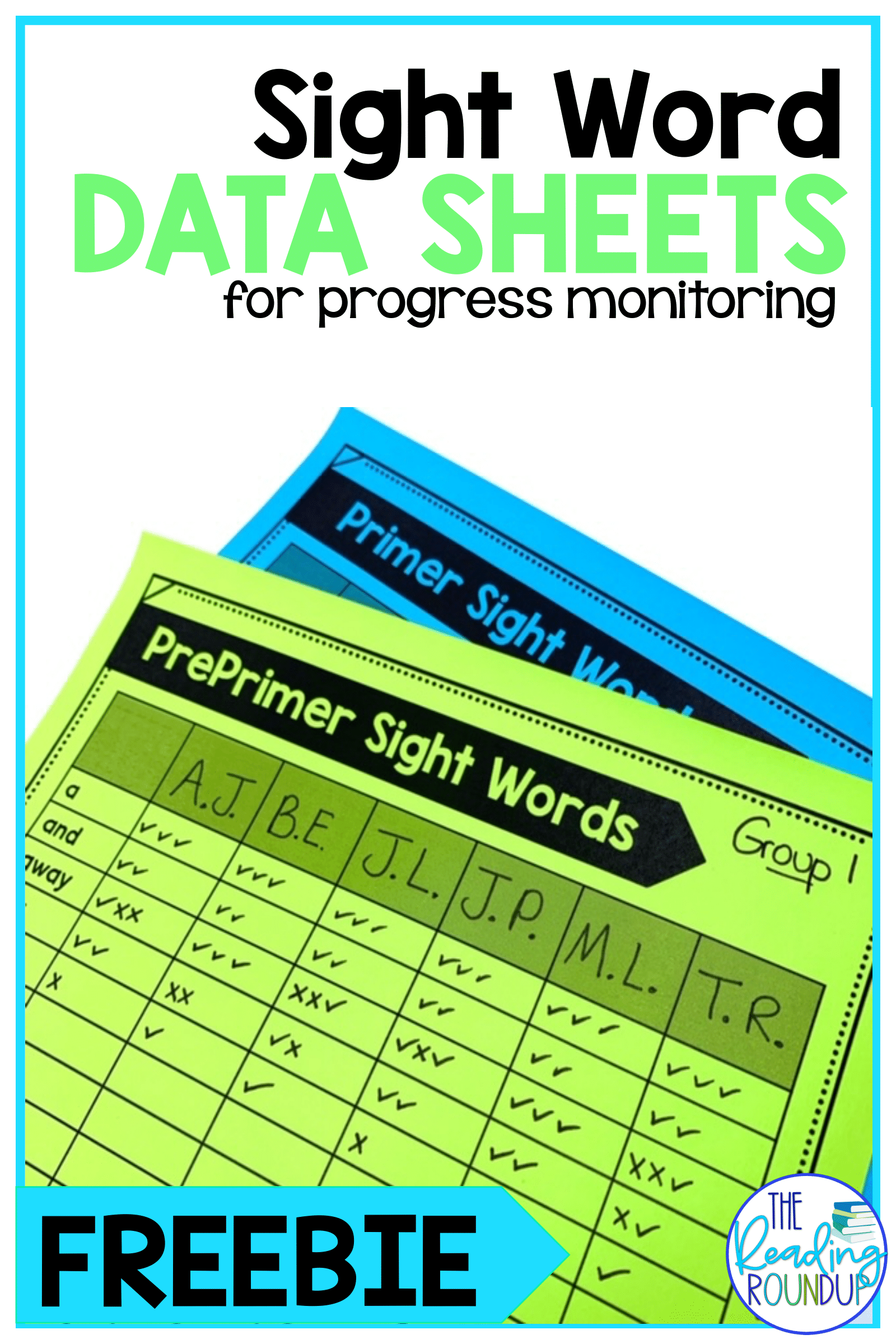 Free Sight Word Assessment In