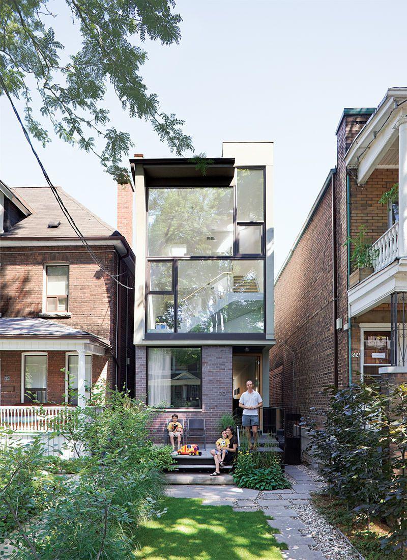 3 lindas casas estreitas e inspiradoras | chang'e 3, ux/ui