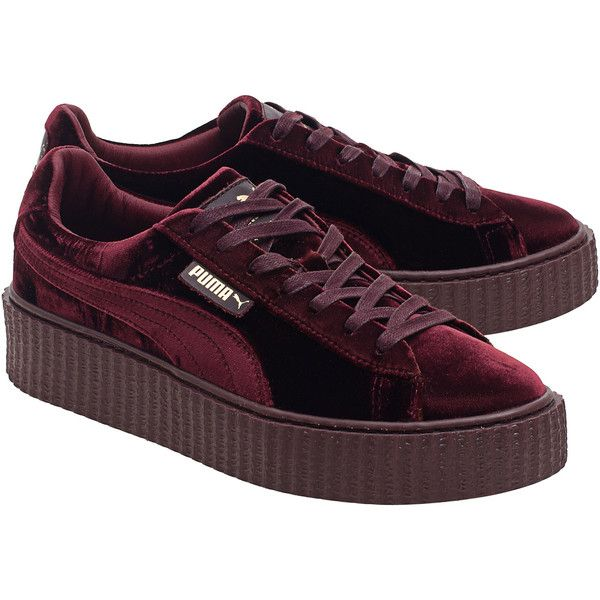 ee1b0a47c969 Fenty x Puma by Rihanna Creeper Velvet Royal Purple    Platform velvet.
