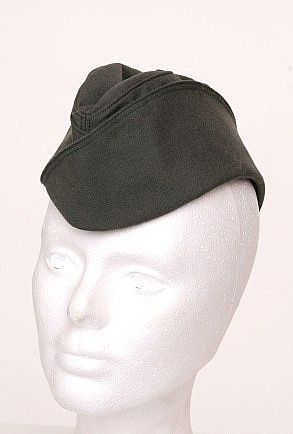 bda114360fd Women s Garrison Cap for my 1940s Pin Up Military costume