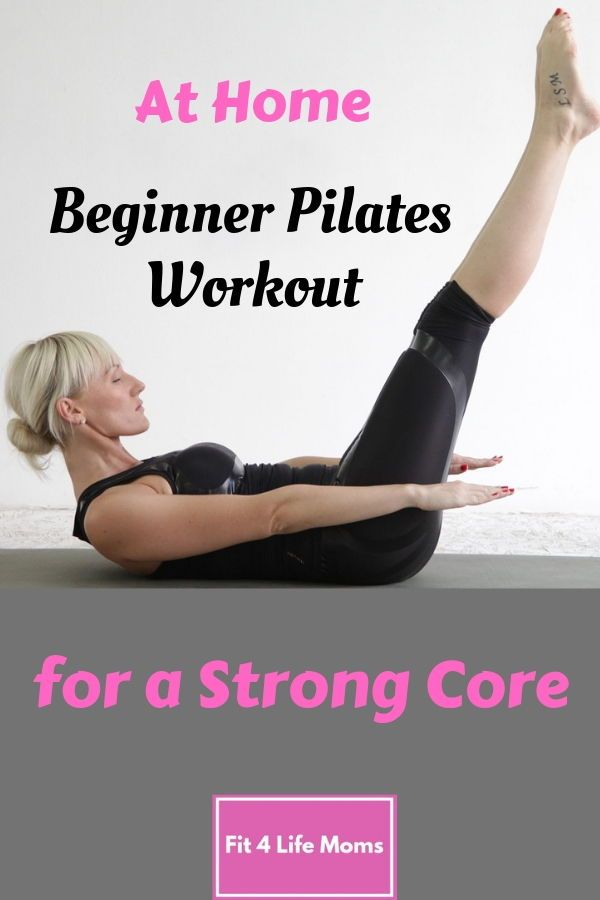 At Home Classical Pilates Workout for Beginners #pilatesworkoutroutine