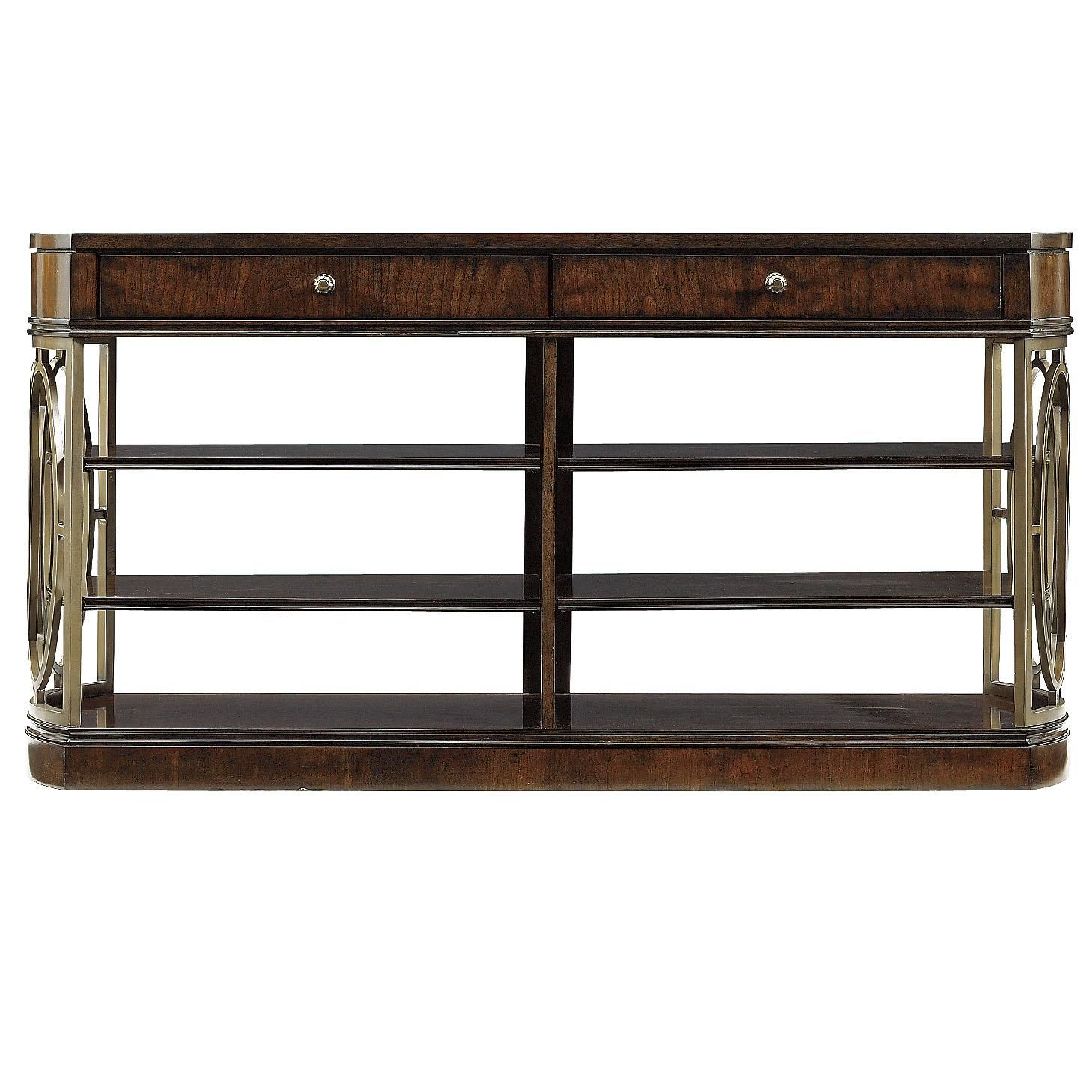 Avalon heights empire media console by stanley furniture