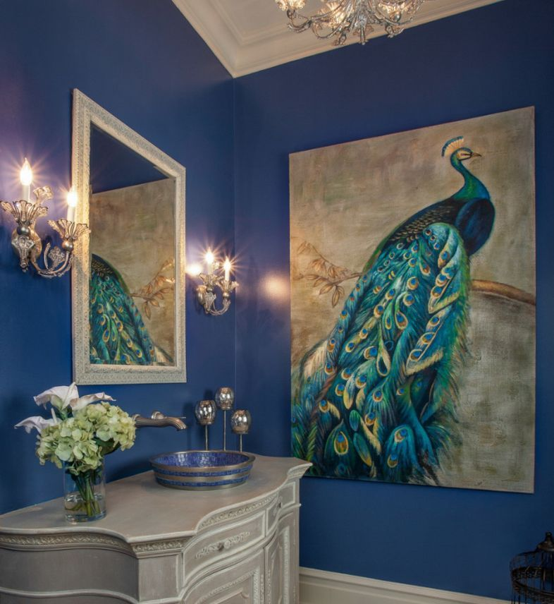 10 Ways To Decorate With Peacock Blue Dining Room Table Decor