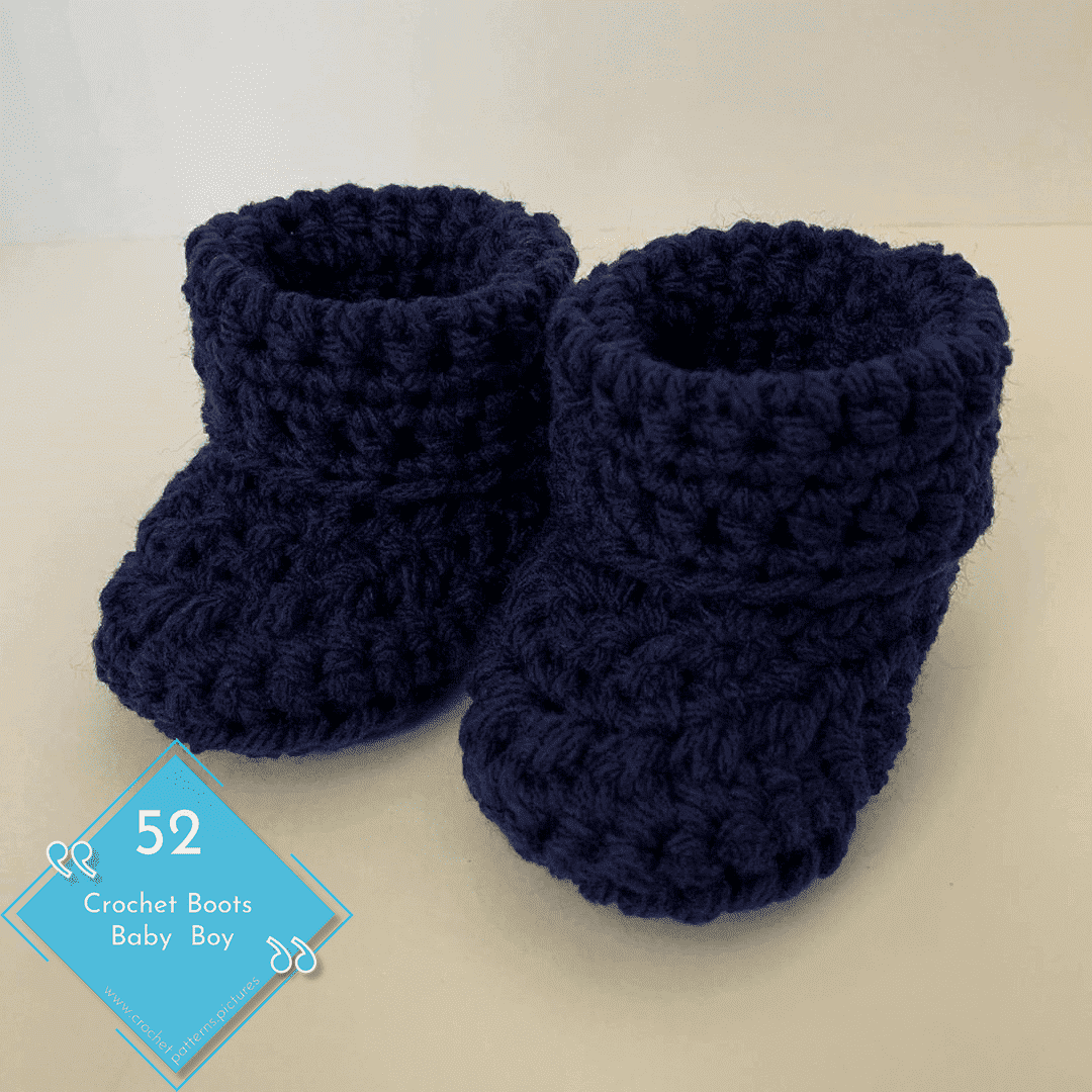 Photo of 52 Crochet Boots With Modern Patterns For Baby Boys. Advice Model: 29