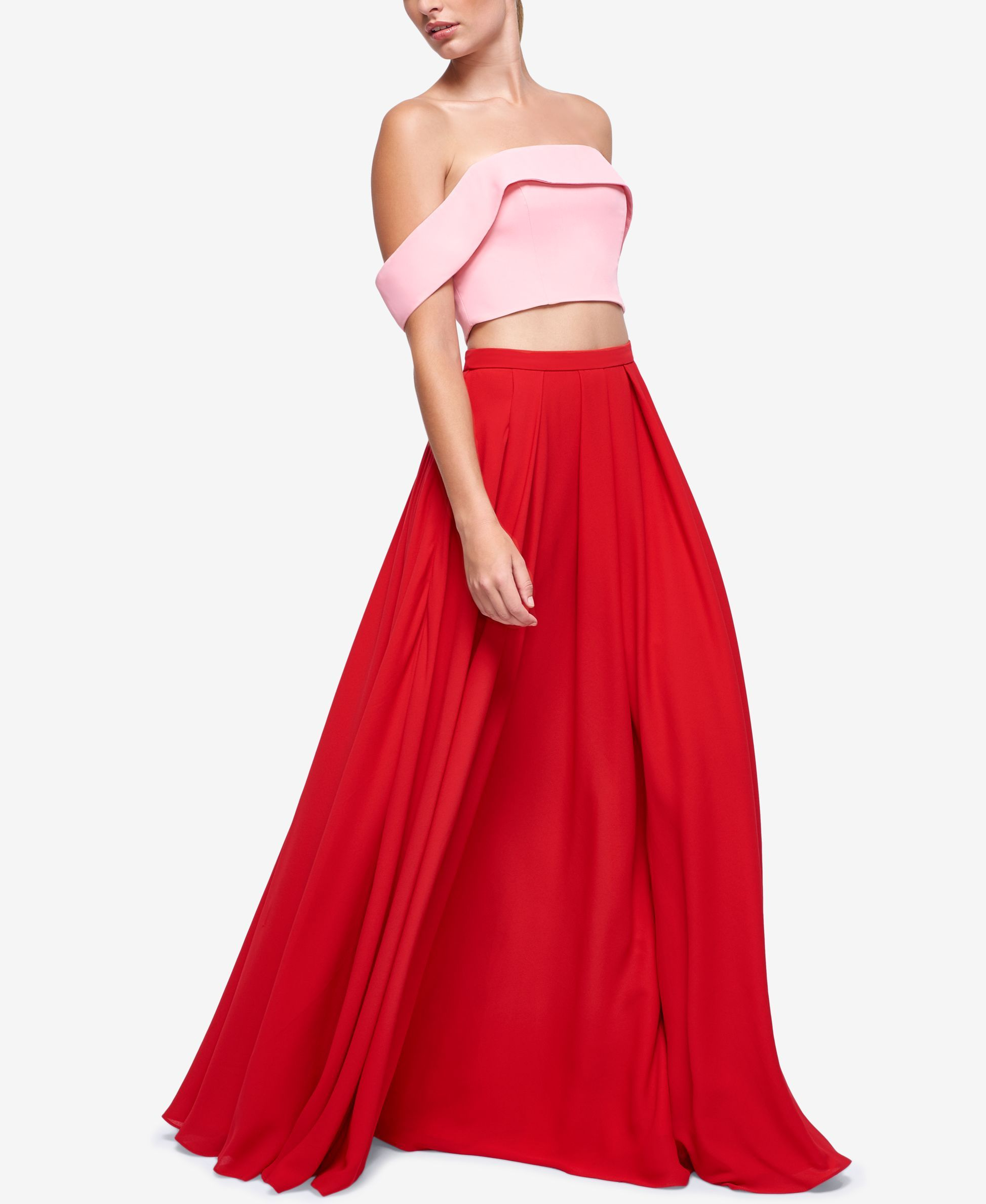 Fame and partners gillian offtheshoulder pc dress products