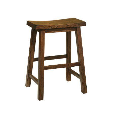 Home Saddle Seat Bar Stool Wood Bar Stools 24 Counter Stools