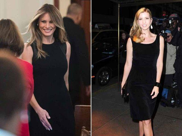 Melania e Ivanka Trump: stesso stile e stessi colori