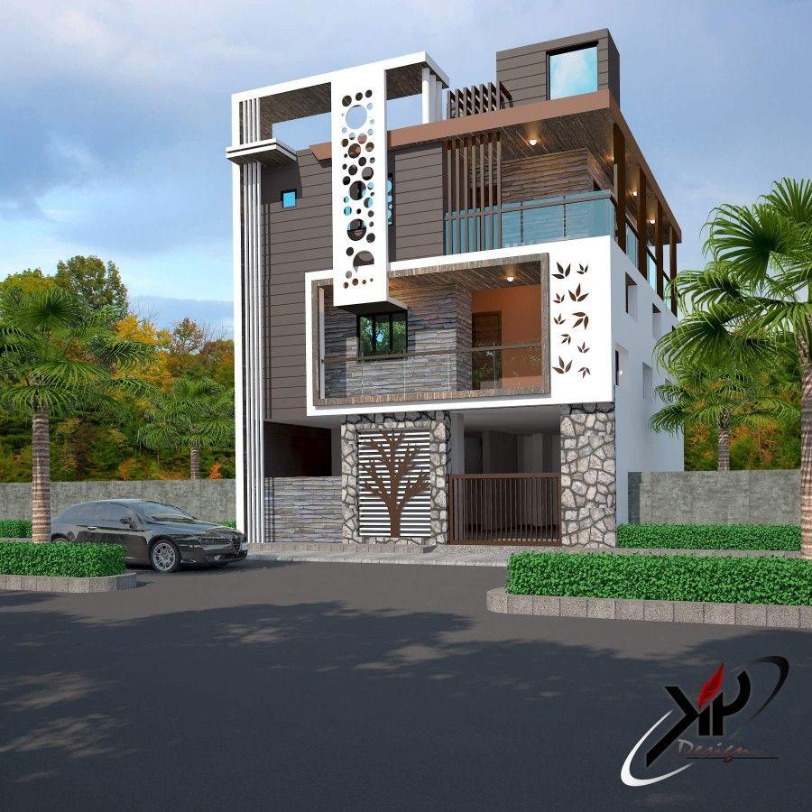 Elevation building plan house front design modern also  in pinterest rh