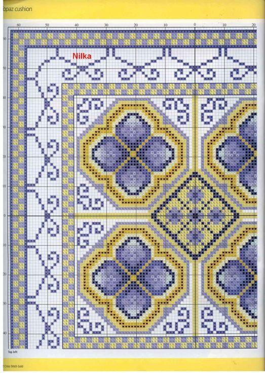 Cross-stitch Blue Topaz, part 2...  color chart on part 3...     Gallery.ru / Фото #34 - 32 - Orlanda