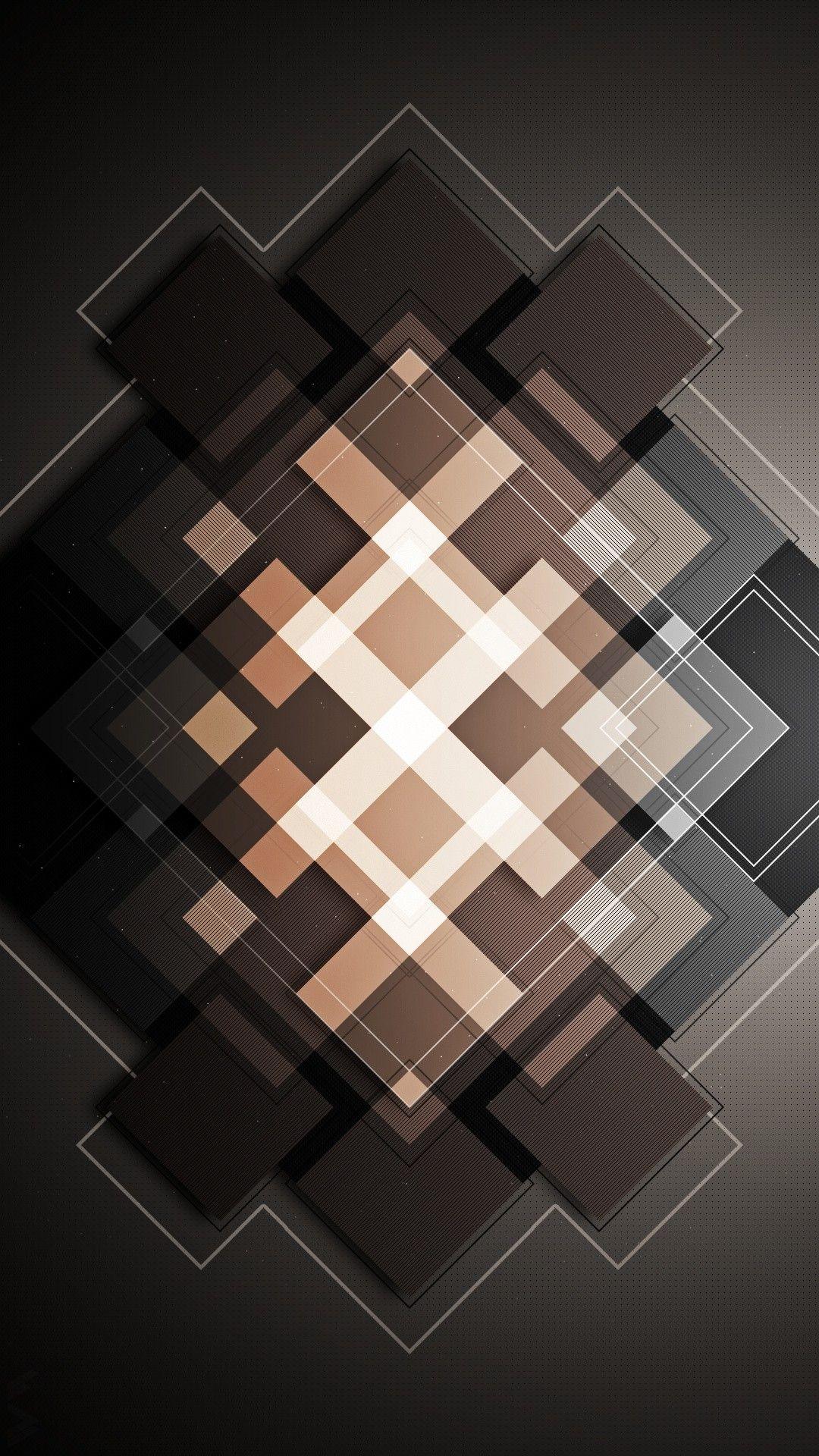 Black Brown And Grey Squares Wallpaper Phone Wallpaper Images Iphone Wallpaper Graphic Wallpaper