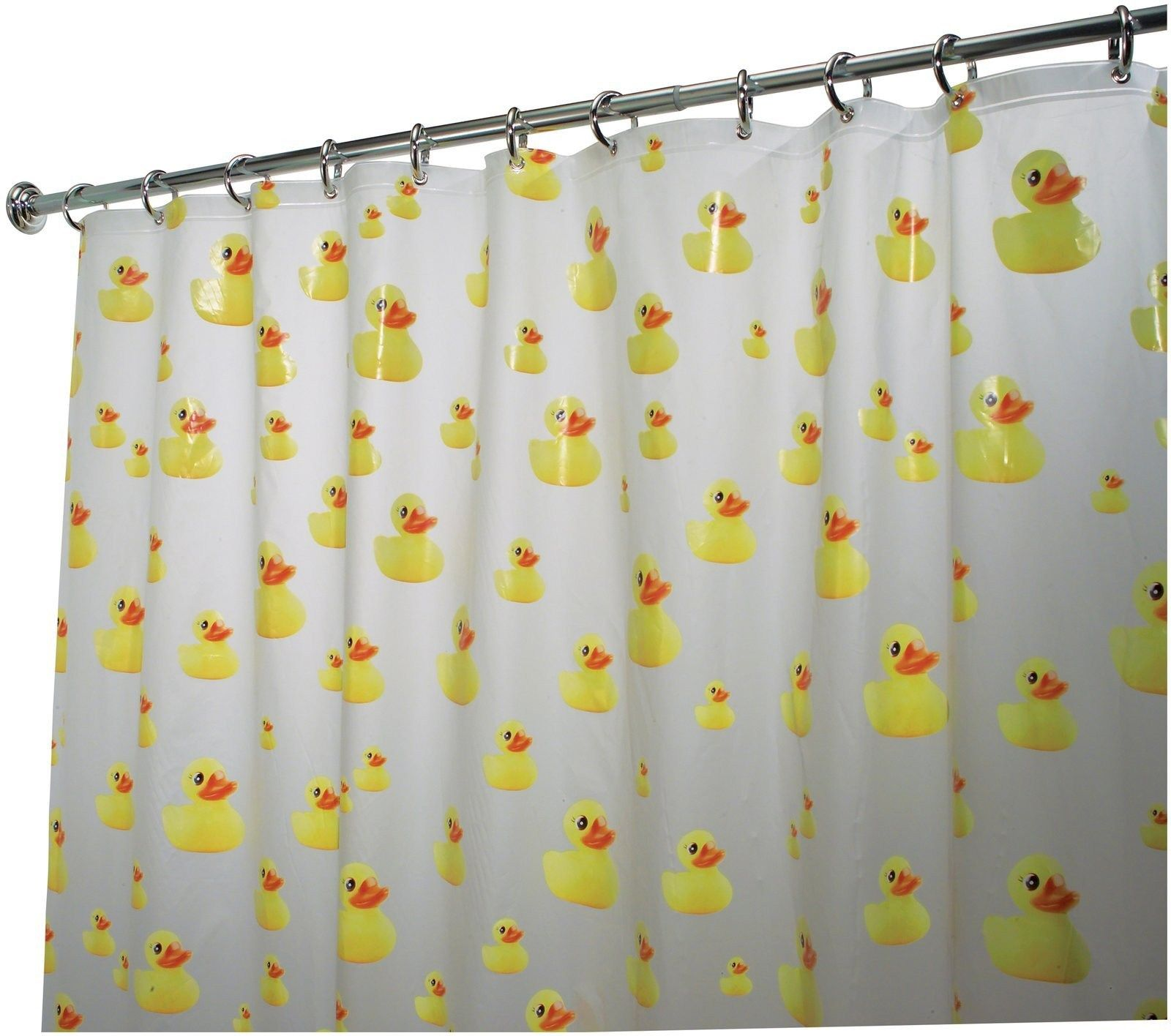 Fresh Rubber Duck Shower Curtain Hooks