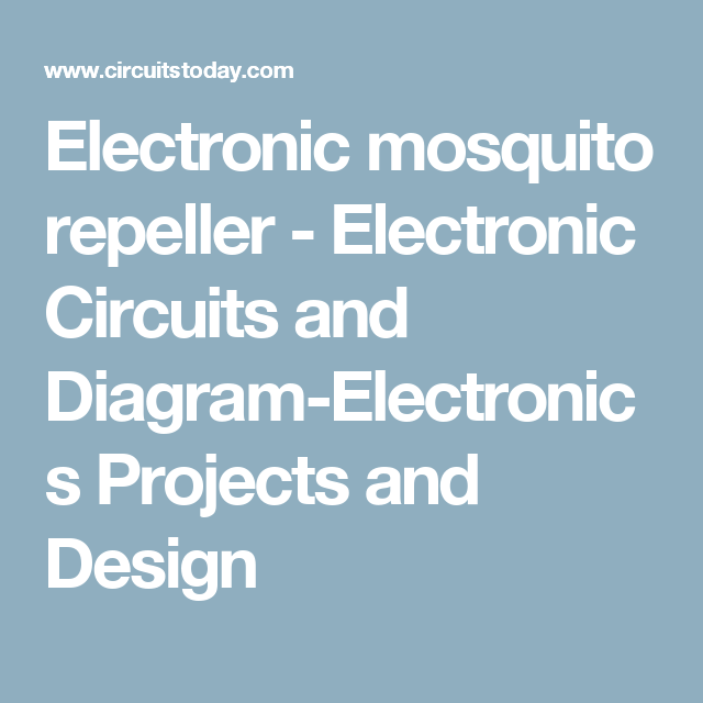 Electronic Circuits And Diagramelectronics Projects And - Appghsr.co ...