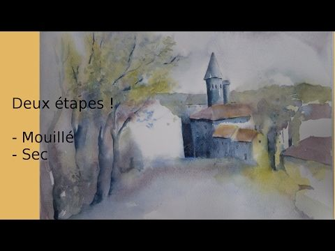 Aquarelle Debutant 6 Et Si On Changeait De Teinte Youtube
