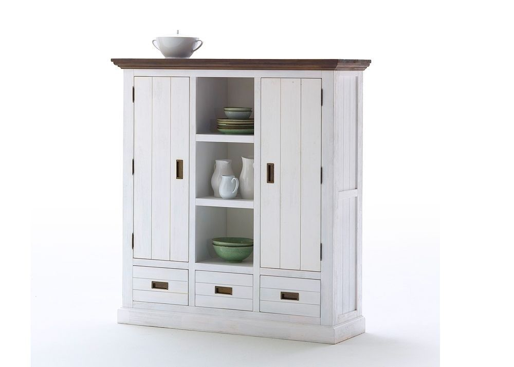 Highboard Clement Holz Akazie Weiß 6093. Buy now at https://www ...