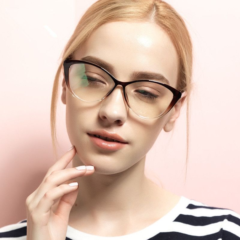 BOYEDA Ordenador TR90 Grado Claro Gafas de Montura De gafas de Moda ...