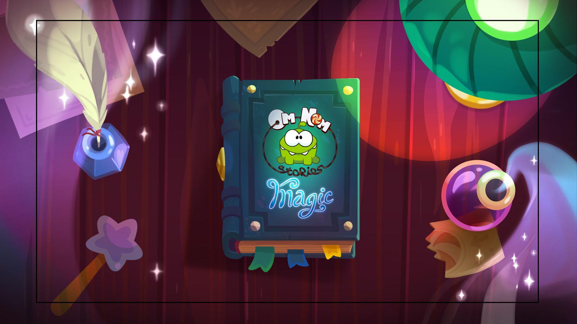 Backgrounds for Om Nom Stories: Magic. on Behance