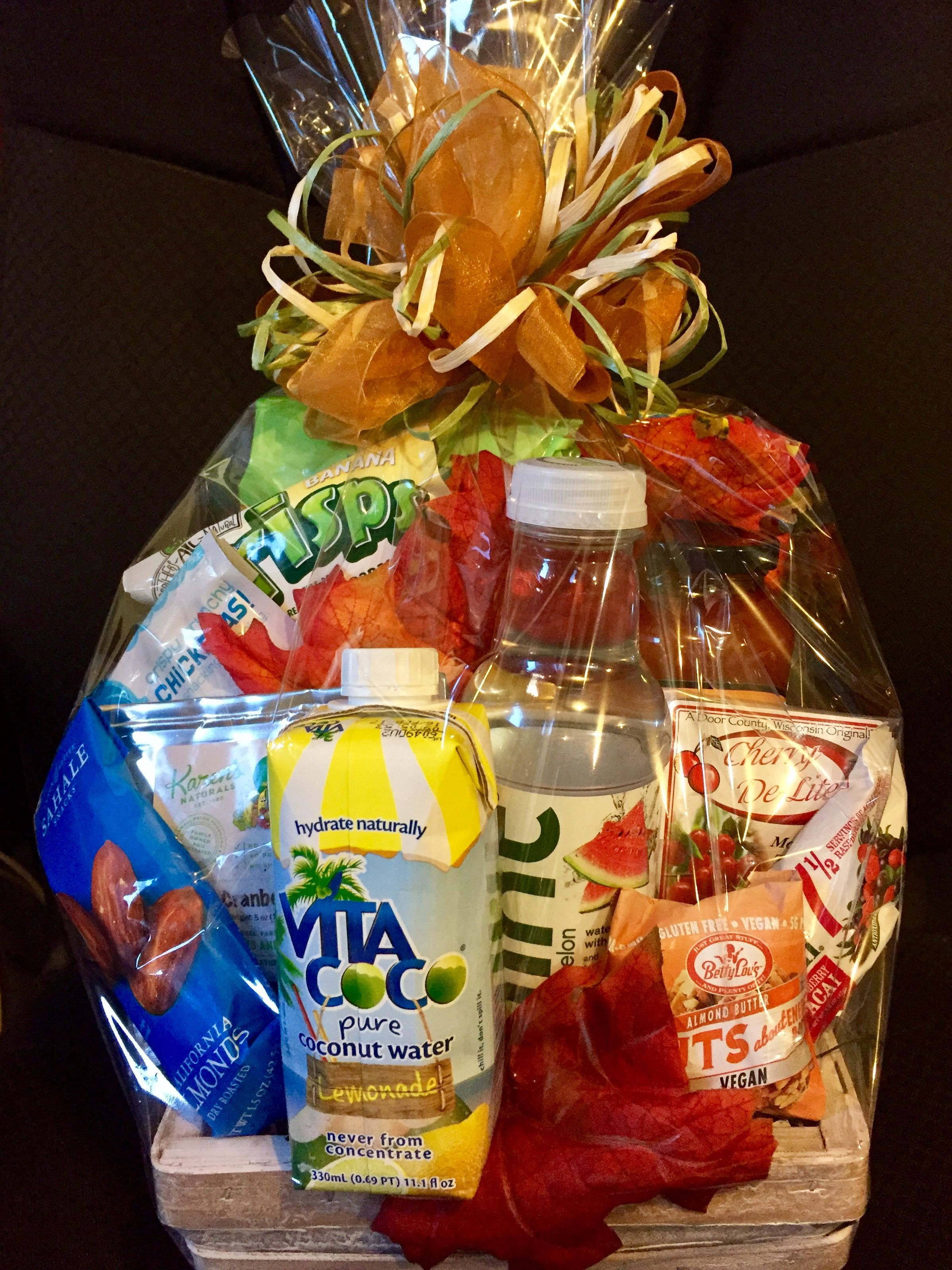 Send Your Favorite Athlete A Few Awesome Snacks To Boost Their Work Outs