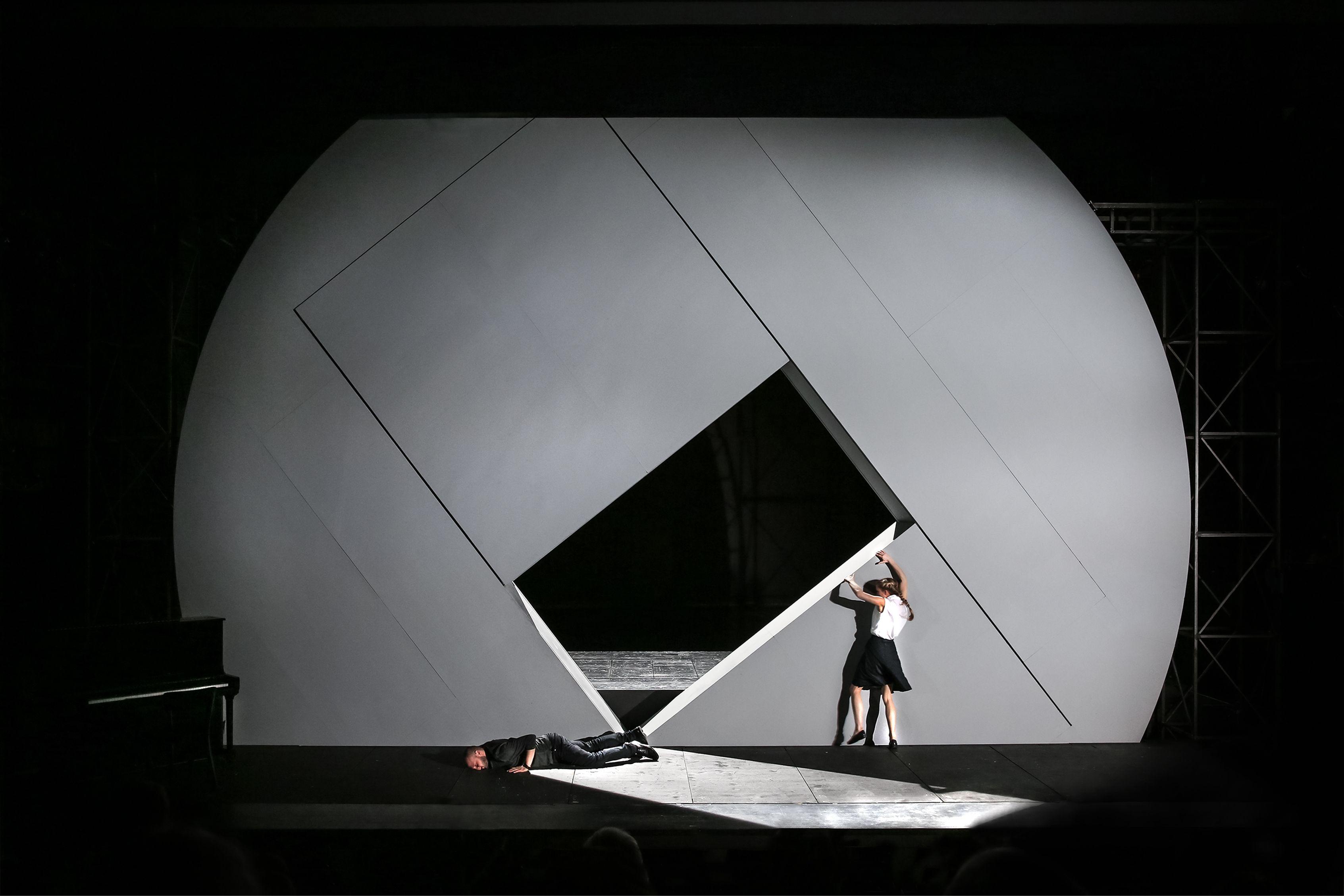 Design Bonn stagedesign for schillers kabale und liebe a play for theater bonn