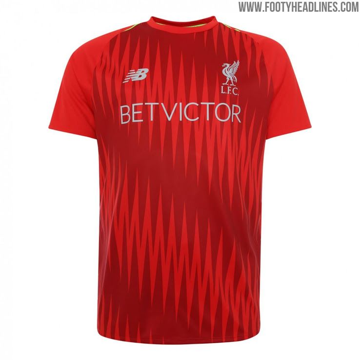 c1c640c1035 Liverpool 18-19 Pre-Match and Training Kit Revealed - Footy Headlines