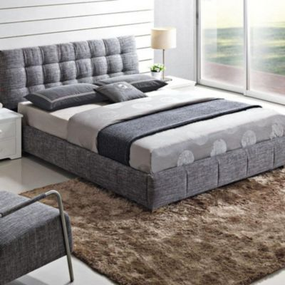 is it too to want an upholstered bed frame sears rizzo upholstered bed ensemble
