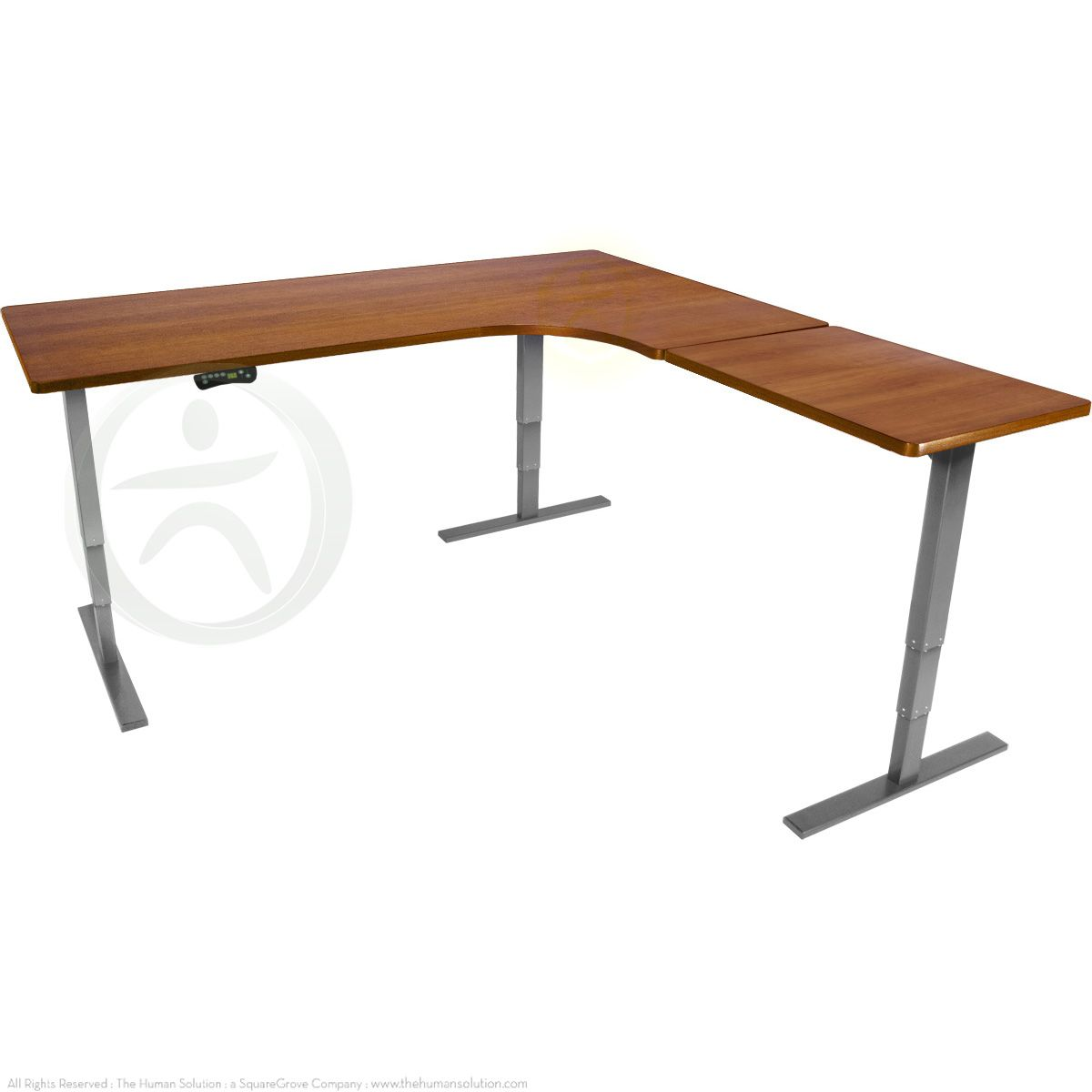 Uplift 950 Height Adjustable L Shaped Standing Desk Affordable Standing Desk Desk L Shaped Desk