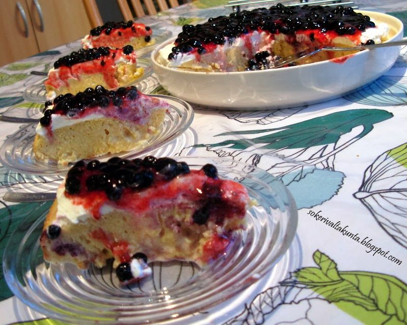Tres leches /  Kolmen maidon kakku