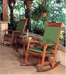 Wooden Outdoor Rocking Chairs Brazilian Cherry Wood Outdoor Living Decor Rocking Chair Outdoor Rocking Chairs
