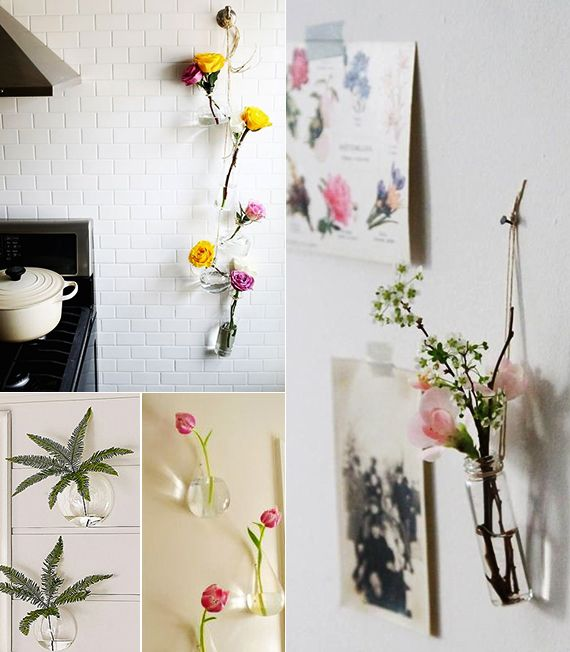 diy vase mit vase die wand dekorieren vasen selber machen und wand dekorieren diy. Black Bedroom Furniture Sets. Home Design Ideas