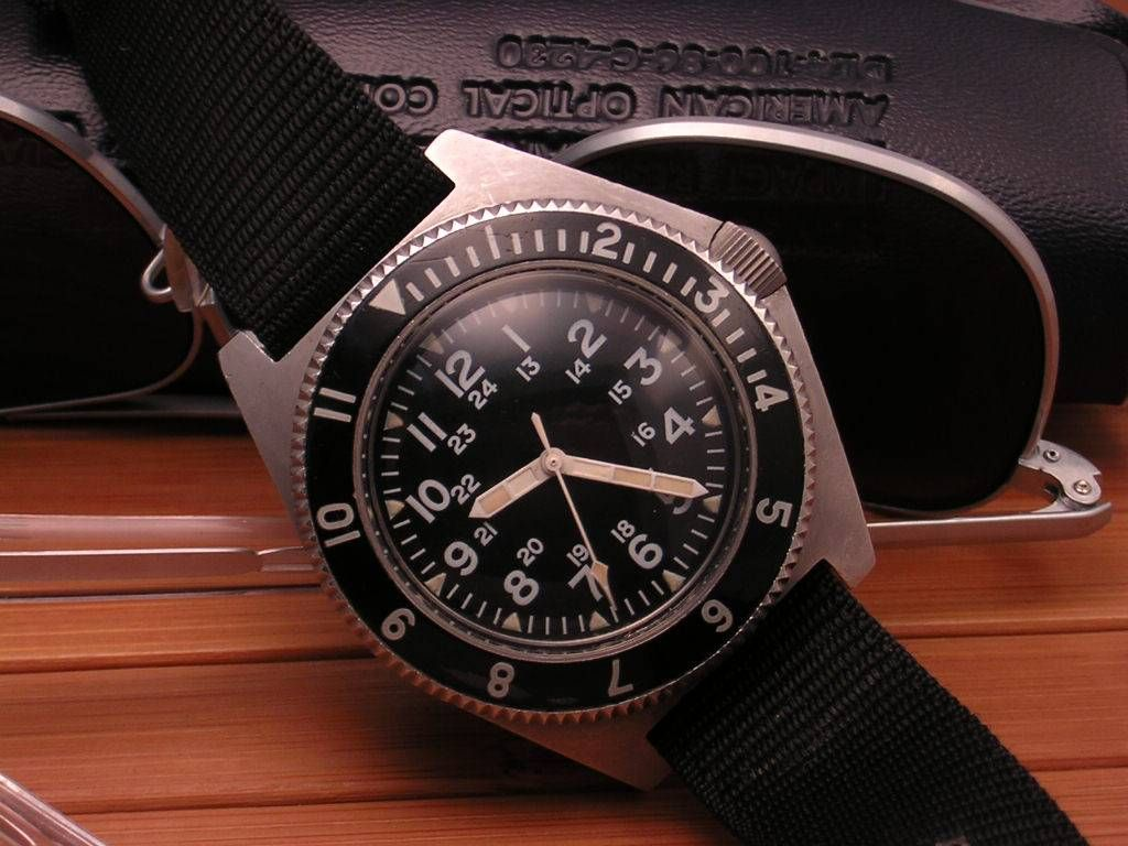benrus military diver watch type ii 70s �� watches