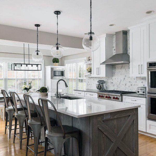 Top 60 Best Rustic Kitchen Ideas - Vintage Inspired Interior Designs #rustickitchendesigns