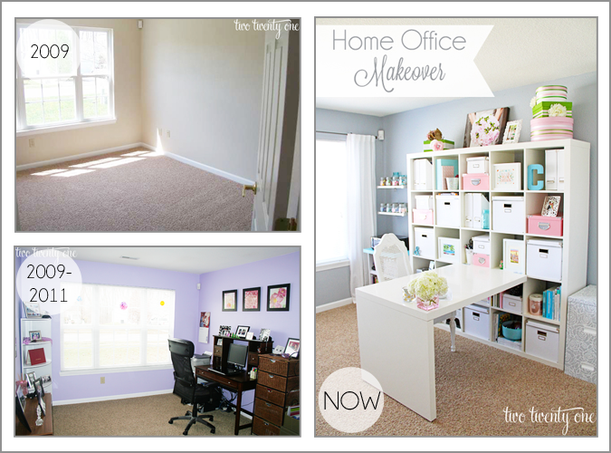 Perfect Home Office Makeover Reveal