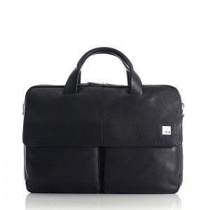 Knomo Warwick Black 15 Inch Laptoptassen Mannentas Tassen