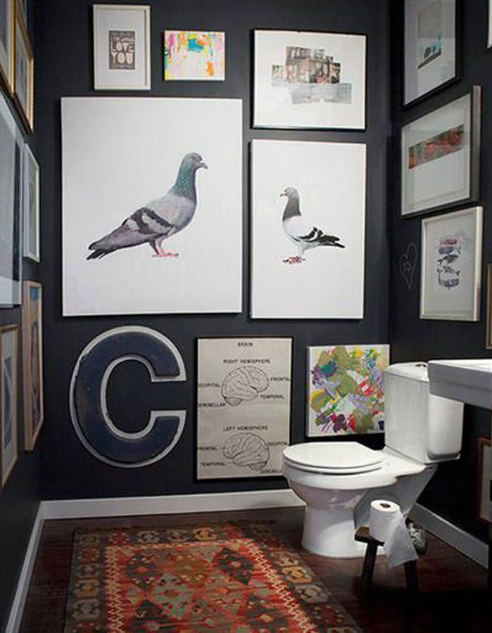 D corer ses toilettes sans faire ringard sdb - Decorer ses wc ...