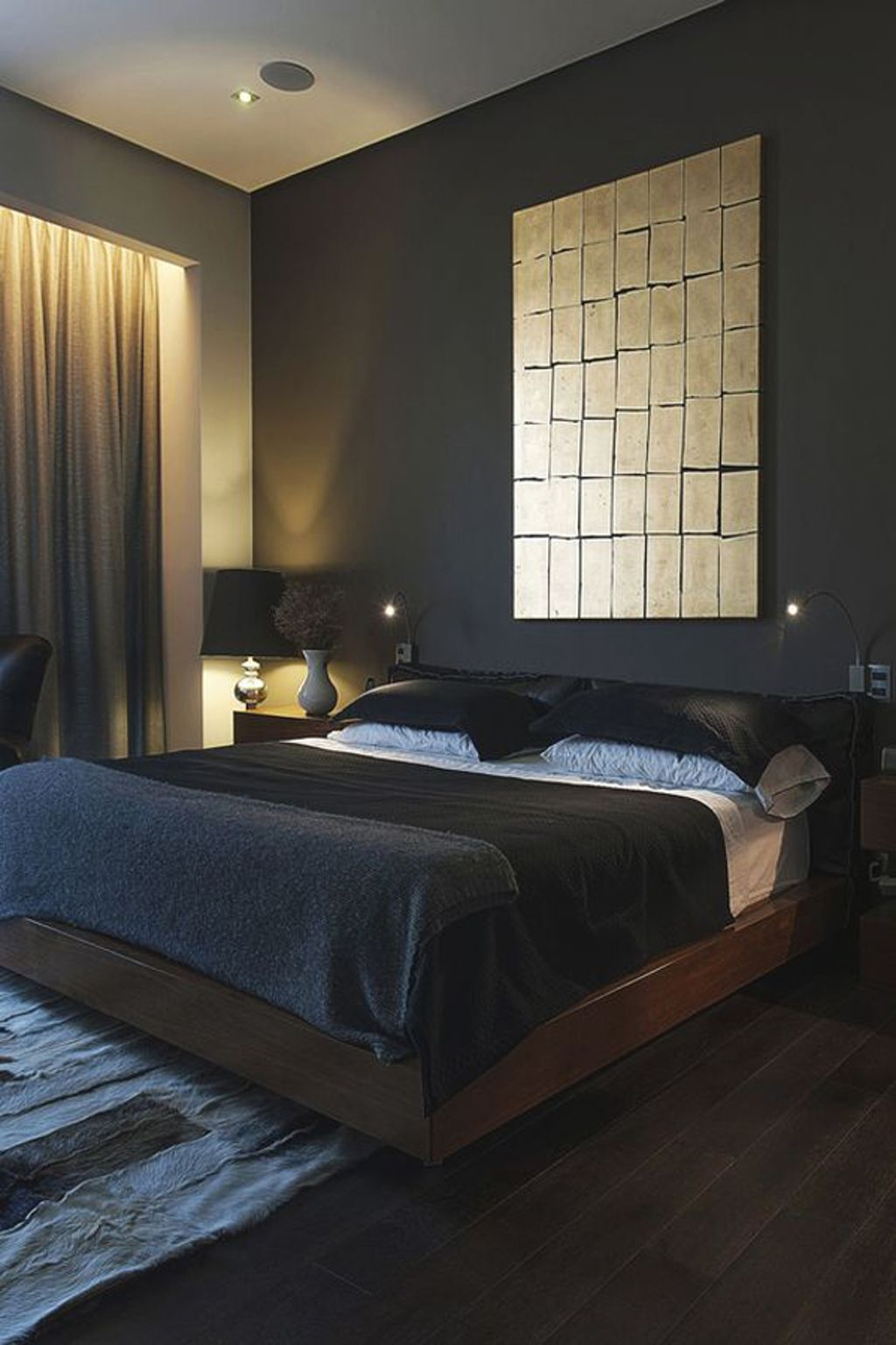 10 Masculine Bedroom Ideas Most Elegant And Beautiful Mens Bedroom Decor Luxurious Bedrooms Modern Minimalist Bedroom