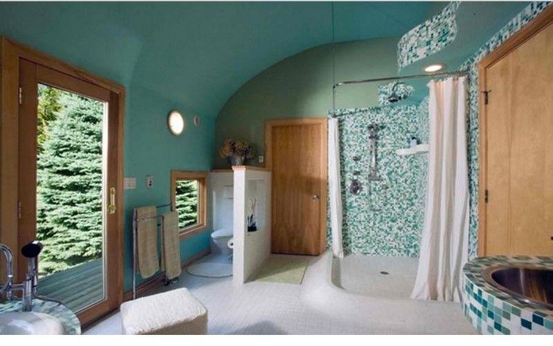 10 manières de décorer sa salle de bain en turquoise Turquoise