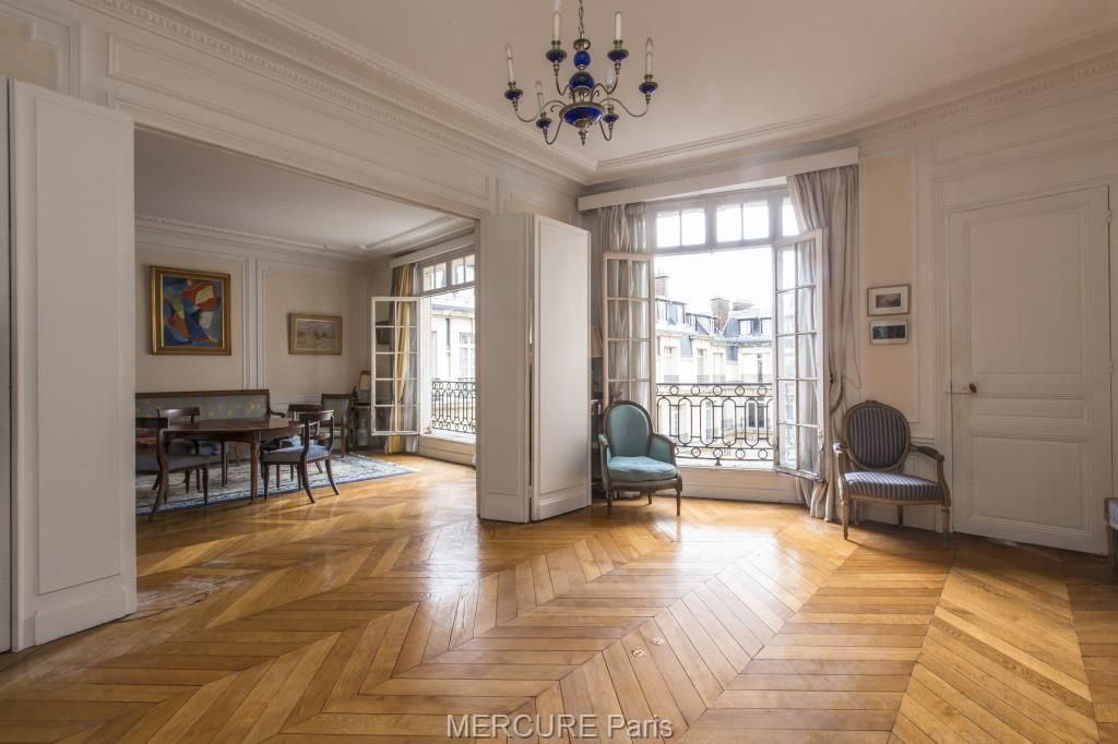For sale In the 16th district of Paris, this apartment ...