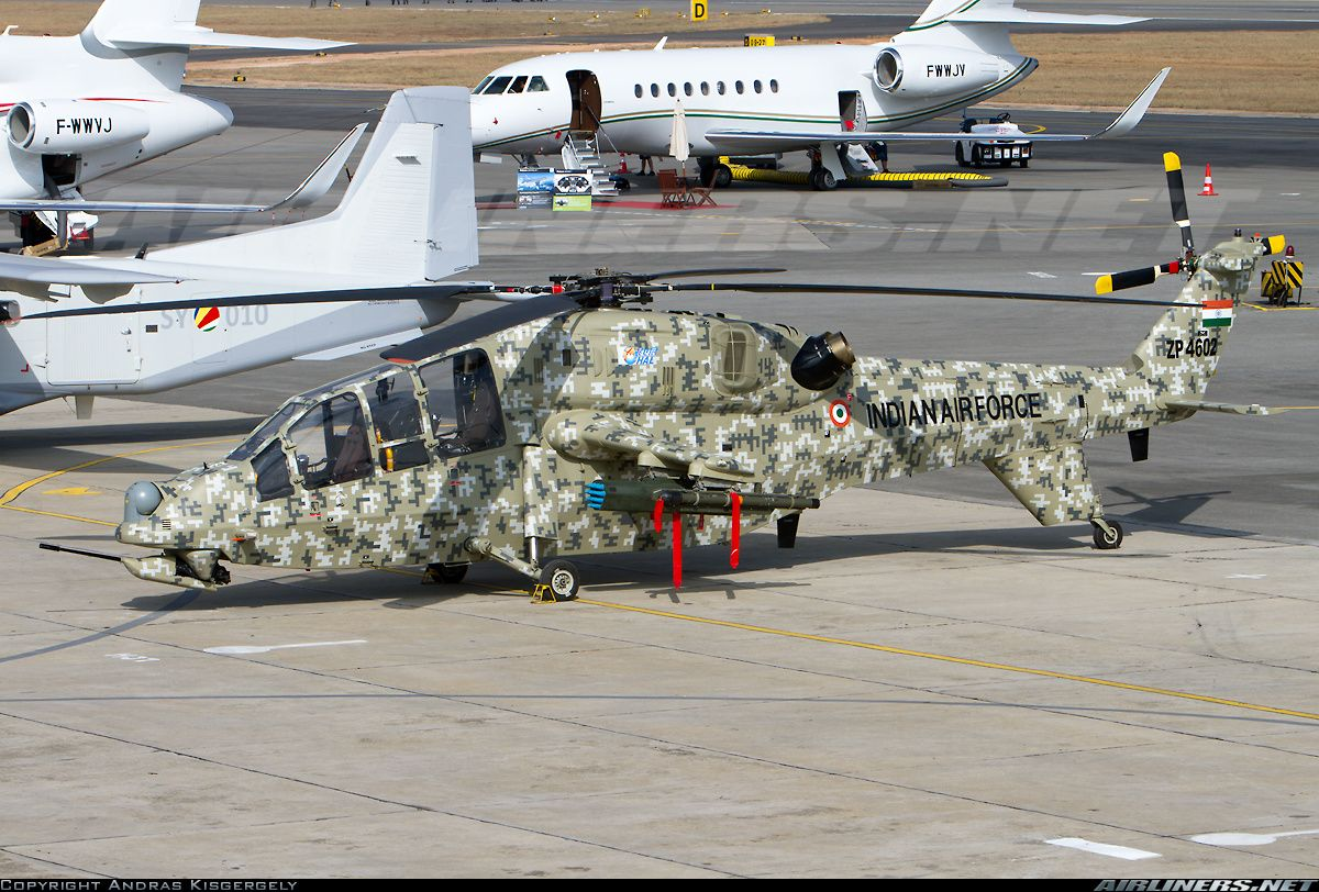Indian New HAL LCH Military helicopter, Helicopter